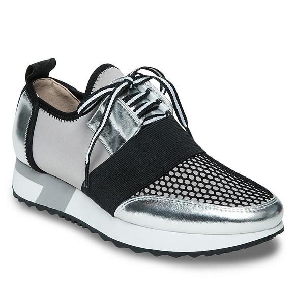 Antics Metallic Silver Sneakers 95